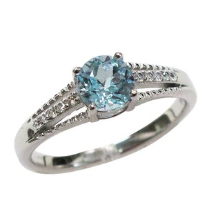 9.2.5 Adorable sky blue topaz ring size 6