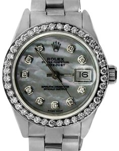 Rolex LADIES ROLEX DATEJUST DIAMOND WATCH WITH ROLEX BOX AND APPRAISAL