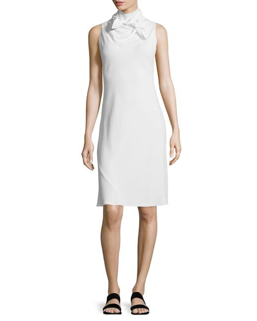 The Row short dress White Tory Burch Isabel Marant Victoria Beckham Prada Chanel on Tradesy Image 2