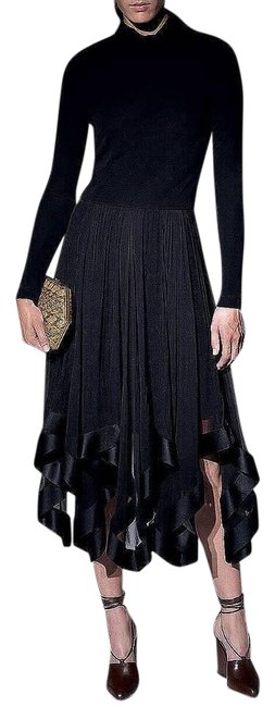 Preload https://img-static.tradesy.com/item/21004699/nina-ricci-black-jersey-w-chiffon-and-satin-details-mid-length-cocktail-dress-size-12-l-0-1-650-650.jpg