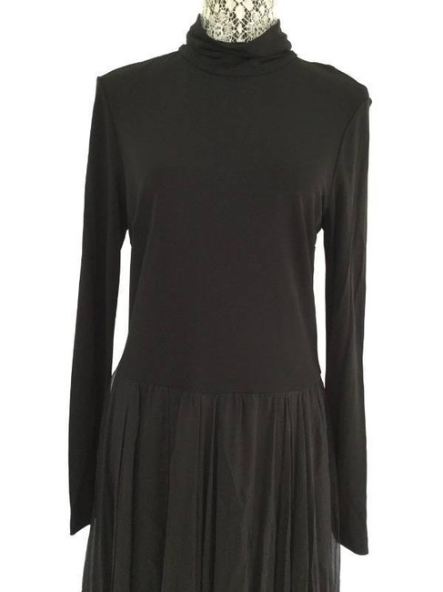 Nina Ricci Ribbon Chiffon Satin Detail Dress Image 2