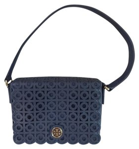 Tory Burch Perforated Kelsey Saffiano Leather Shoulder Bag