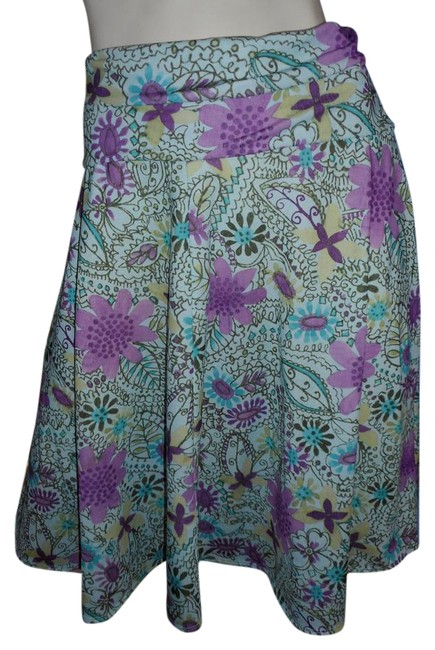 Preload https://img-static.tradesy.com/item/21004722/weekenders-pink-lavender-gold-brown-ivory-and-teal-joy-collection-knee-length-skirt-size-10-m-31-0-1-650-650.jpg