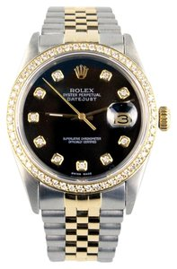 Rolex Datejust Twotone Diamond Watch