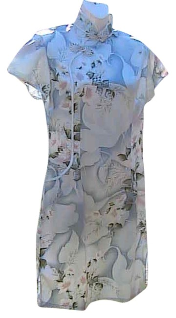 Preload https://img-static.tradesy.com/item/2100490/floral-chinese-knee-length-short-casual-dress-size-8-m-0-0-650-650.jpg