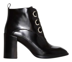 894663299a3 Jeffrey Campbell Black Emporia Box Leather Boots/Booties Size US 7 Regular  (M, B) 38% off retail