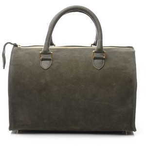 Clare V. Satchel in army green