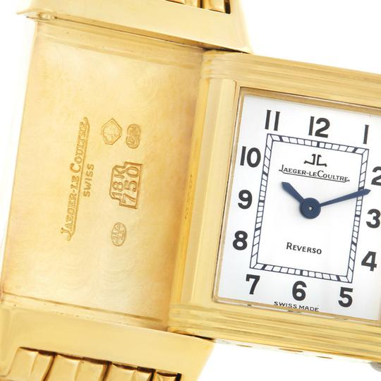 Jaeger-LeCoultre Jaeger LeCoultre Reverso Lady 18K Yellow Gold Watch Q2611110 Image 6