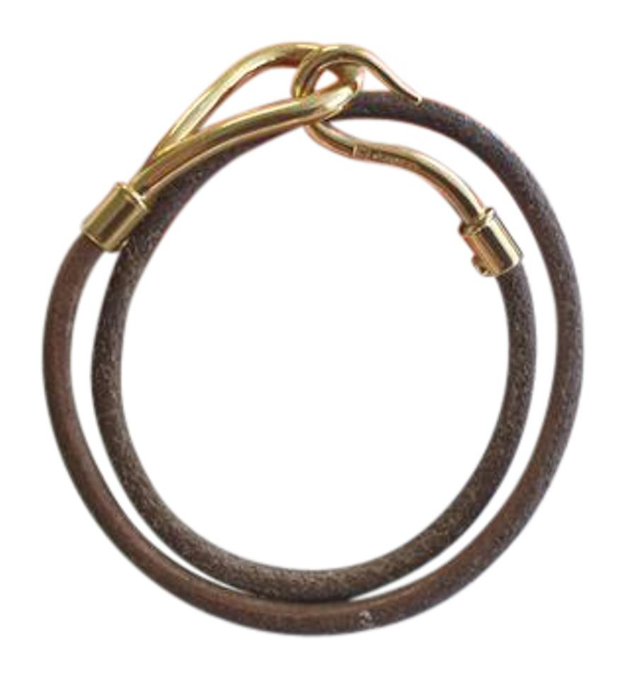 caputo hook bracelet woven hand sand front products co big dkbrown