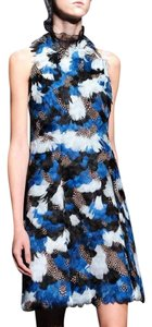 ERDEM Feather Sexy Runwy Color Dress