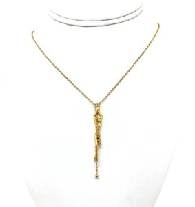 Carrera y Carrera BEAUTIFUL Carrera y Carrera Diamond 18K Gold Nude Girl Necklace