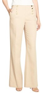 Vince Camuto Sailor High-waisted Trouser Pants Palomino