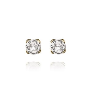 Chloe + Isabel Round Crystal Stud Earrings