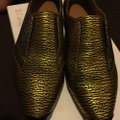 3.1 Phillip Lim black and gold Flats Image 2