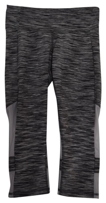 Item - Grey and White Yoga Activewear Bottoms Size 4 (S, 27)