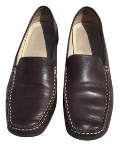 Geox Loafer Moccasin Brown Flats