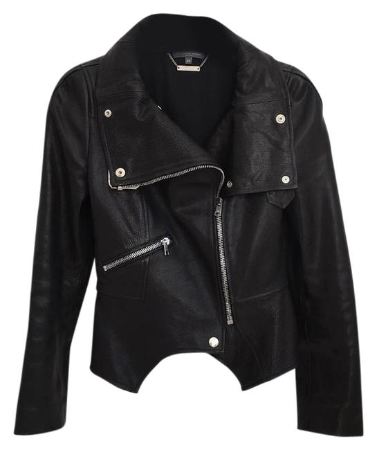 Alexander McQueen black Leather Jacket Image 0