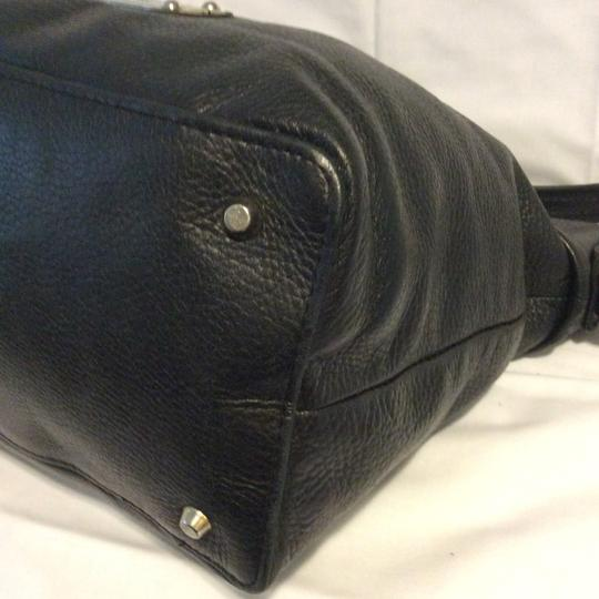 Valentina Italian Leather Shoulder Bag Image 5
