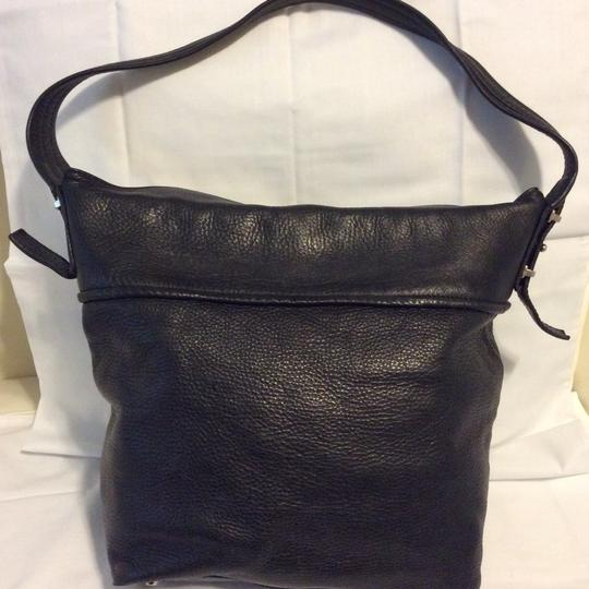 Valentina Italian Leather Shoulder Bag Image 6