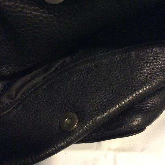 Valentina Italian Leather Shoulder Bag Image 9