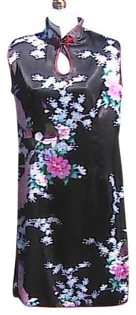 Preload https://item3.tradesy.com/images/floral-peacock-knee-length-short-casual-dress-size-8-m-2100547-0-0.jpg?width=400&height=650