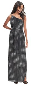 Black and white Maxi Dress by Madewell Maxi Silk One