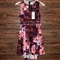 Free People short dress Pink Fit And Flare Shakuhachi For Fp Floral Printed Swing Flower Bomb Flip on Tradesy Image 3