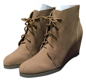 Madden Girl Taupe Boots