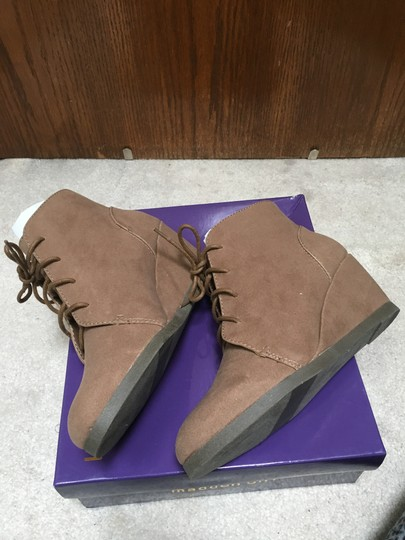 Madden Girl Taupe Boots Image 2