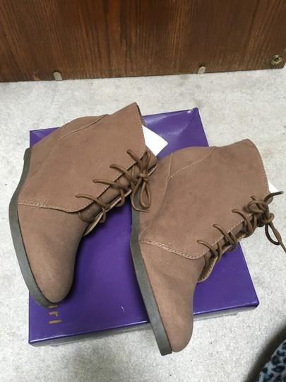 Madden Girl Taupe Boots Image 3