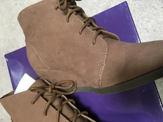 Madden Girl Taupe Boots Image 4