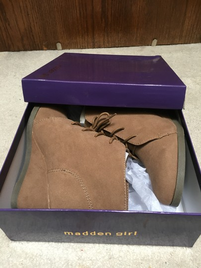 Madden Girl Taupe Boots Image 7