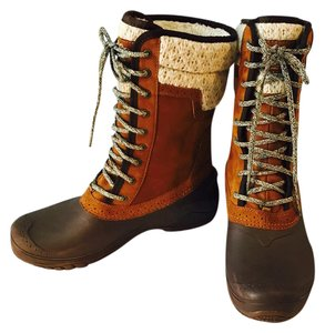 The North Face Women's Shellista II Mid Boots Brown Boots