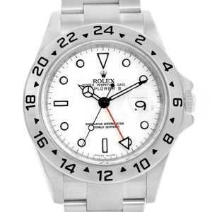 Rolex Rolex Explorer II White Dial Automatic Steel Mens Watch 16570
