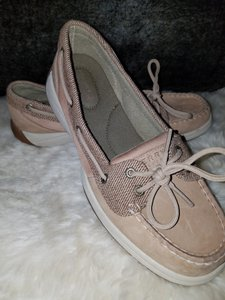 Sperry nude Flats