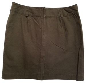 DKNY Mini Skirt Brown