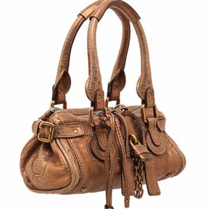 Chloé Satchel in bronze/gold