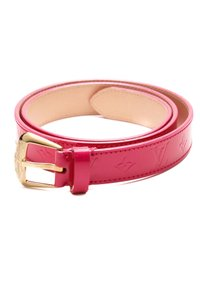 Louis Vuitton Louis Vuitton Rose Pop Monogram Vernis Phoenix Belt