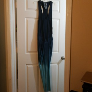 Teal Maxi Dress by Young Fabulous & Broke