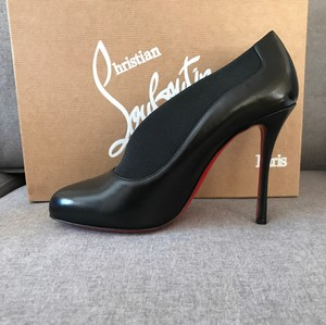 Christian Louboutin Toot Louboutin Toot Toot Couverte Size 39.5 Black Boots
