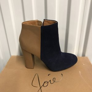 Joie (Navy-Taupe) Boots