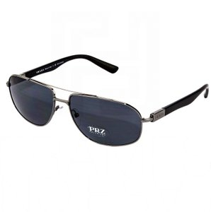 Prada NEW PRADA (SPR57) Polarized Aviator Designer Sunglasses, Made in Italy