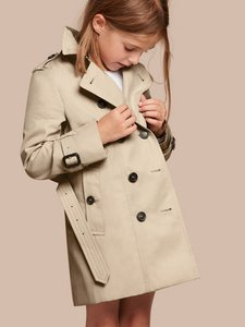 Burberry Trench Trench Kids 12y Trench Trench Coat