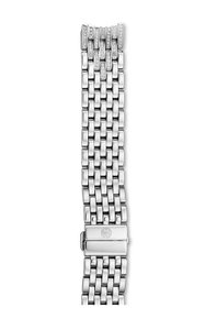 Michele New 16mm Serein 16 7-link Diamond Taper Bracelet MS16FK235009