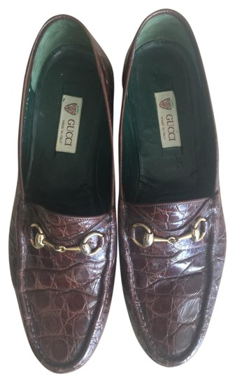 Alligator Loafers Flats Size