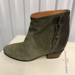 Golden Goose Deluxe Brand (Military Green) Boots