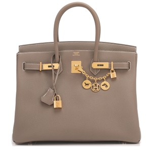 Hermès Birkin 35 Etoupe Birkin Etoupe Birkin 35 Etoupe 35 Taupe Birkin Tote in Trench