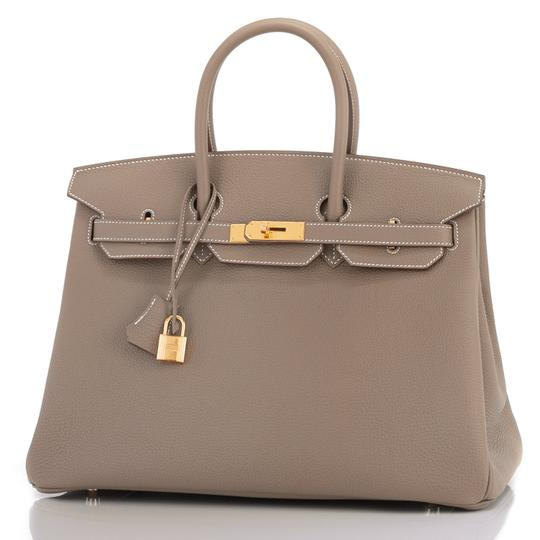 Hermès Birkin 35 Etoupe Birkin Etoupe Birkin 35 Etoupe 35 Taupe Birkin Tote in Trench Image 3