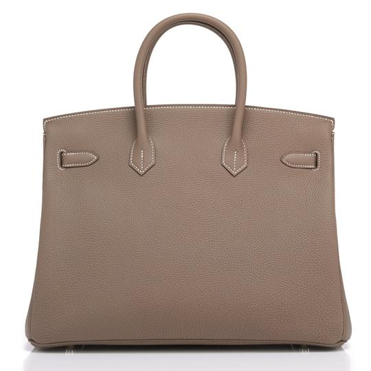 Hermès Birkin 35 Etoupe Birkin Etoupe Birkin 35 Etoupe 35 Taupe Birkin Tote in Trench Image 4