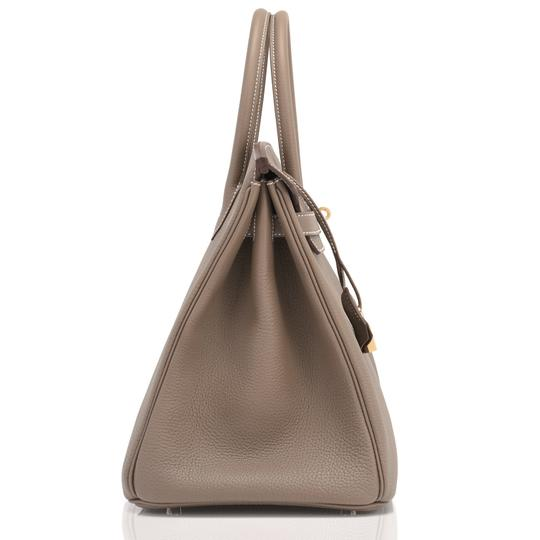 Hermès Birkin 35 Etoupe Birkin Etoupe Birkin 35 Etoupe 35 Taupe Birkin Tote in Trench Image 7